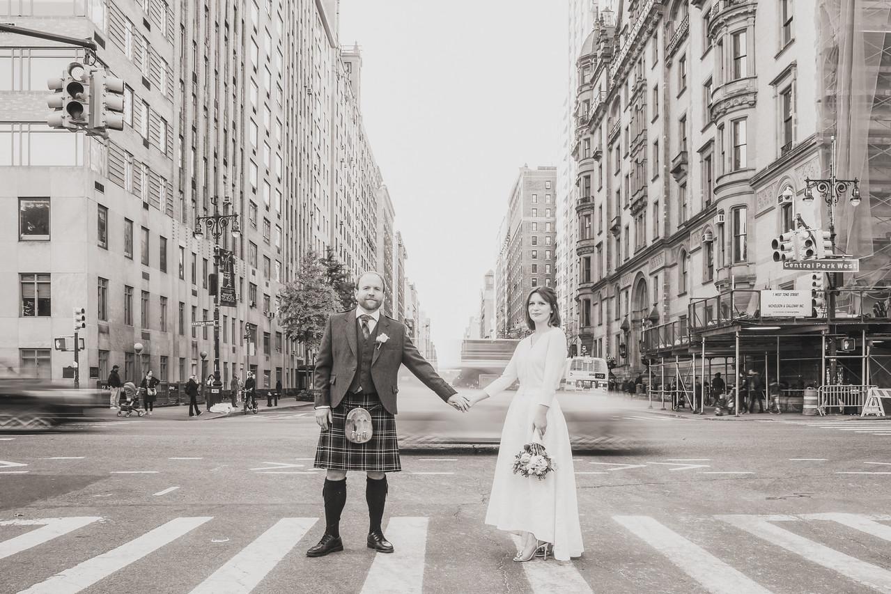 Central Park Wedding - Michael & Kate-90
