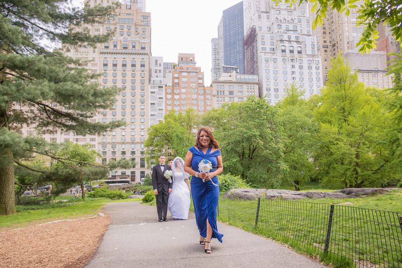 Central Park Wedding - Rosaura & Michael-9