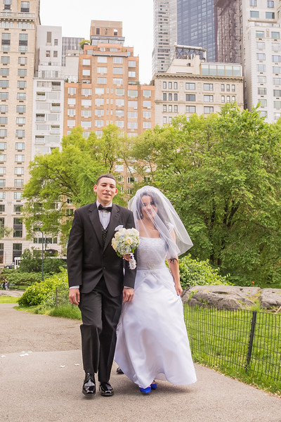 Central Park Wedding - Rosaura & Michael-12