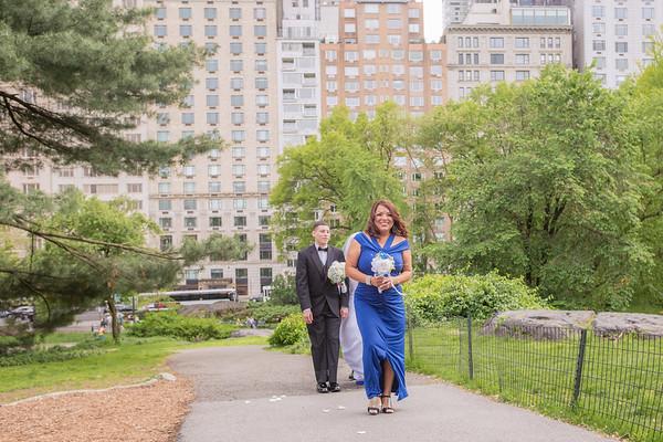 Central Park Wedding - Rosaura & Michael-8