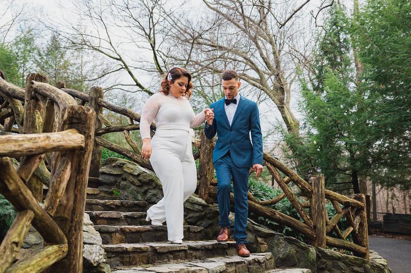 Shakespeare Garden - Central Park Wedding-17