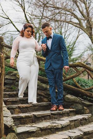 Shakespeare Garden - Central Park Wedding-16