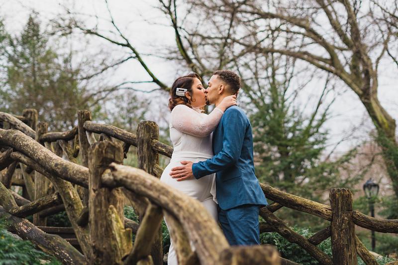 Shakespeare Garden - Central Park Wedding-14