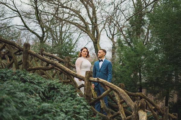 Shakespeare Garden - Central Park Wedding-5