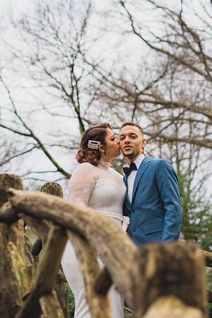 Shakespeare Garden - Central Park Wedding-15