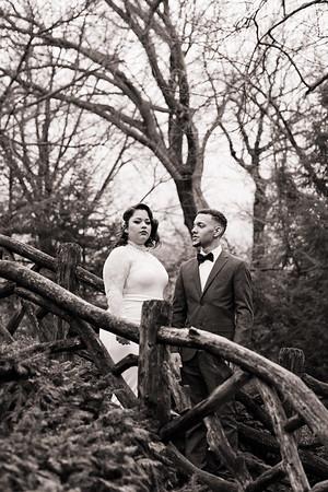 Shakespeare Garden - Central Park Wedding-7