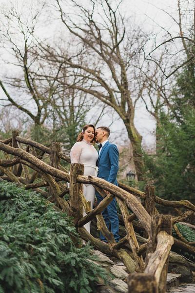 Shakespeare Garden - Central Park Wedding-8