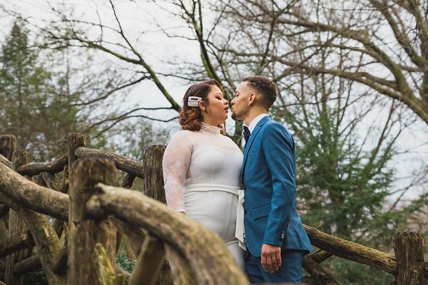 Shakespeare Garden - Central Park Wedding-11