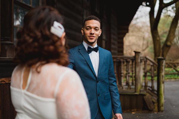 Shakespeare Garden - Central Park Wedding-21
