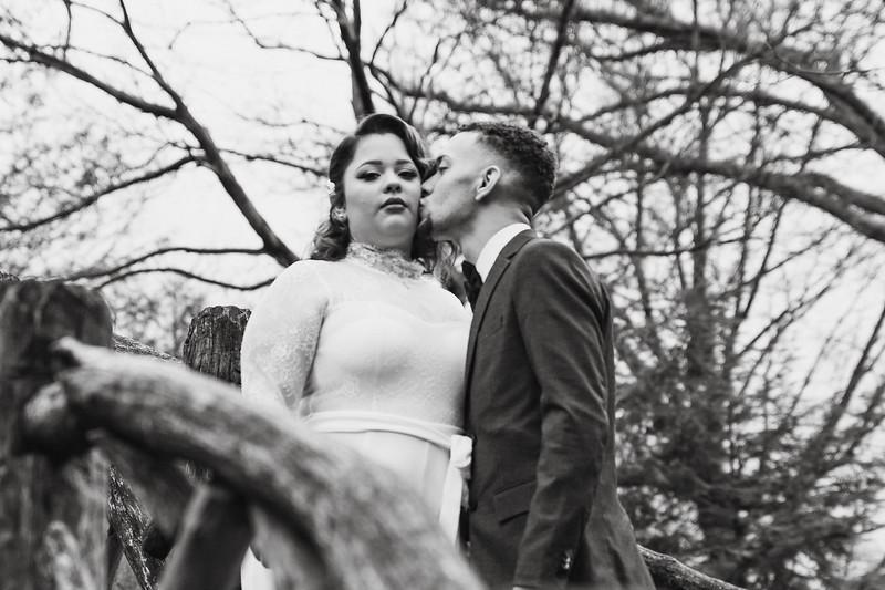 Shakespeare Garden - Central Park Wedding-10