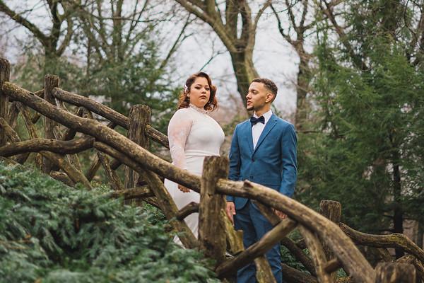 Shakespeare Garden - Central Park Wedding-6