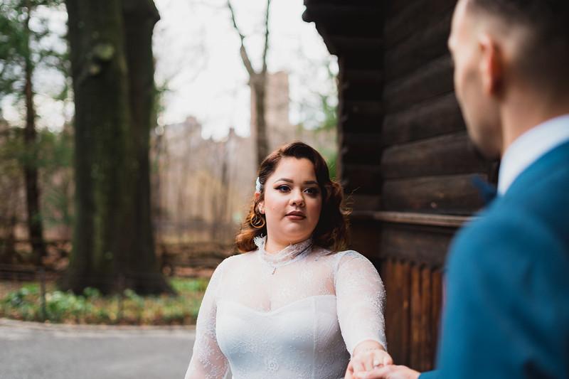 Shakespeare Garden - Central Park Wedding-23