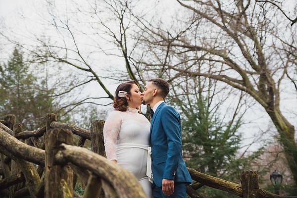 Shakespeare Garden - Central Park Wedding-12