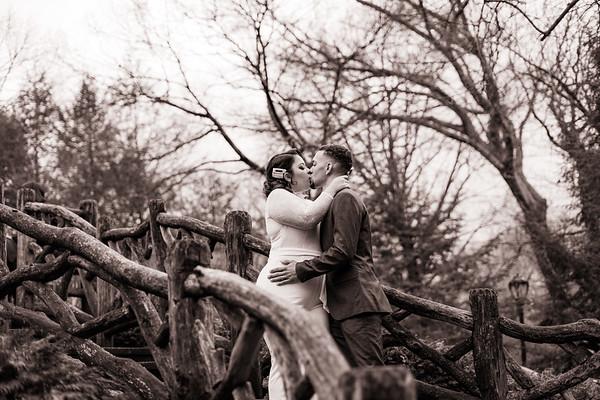 Shakespeare Garden - Central Park Wedding-13