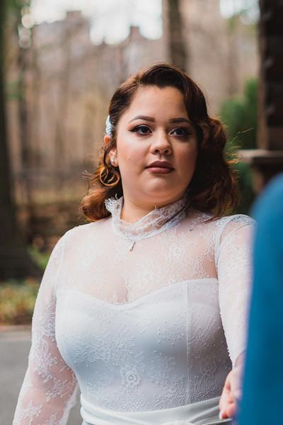 Shakespeare Garden - Central Park Wedding-25