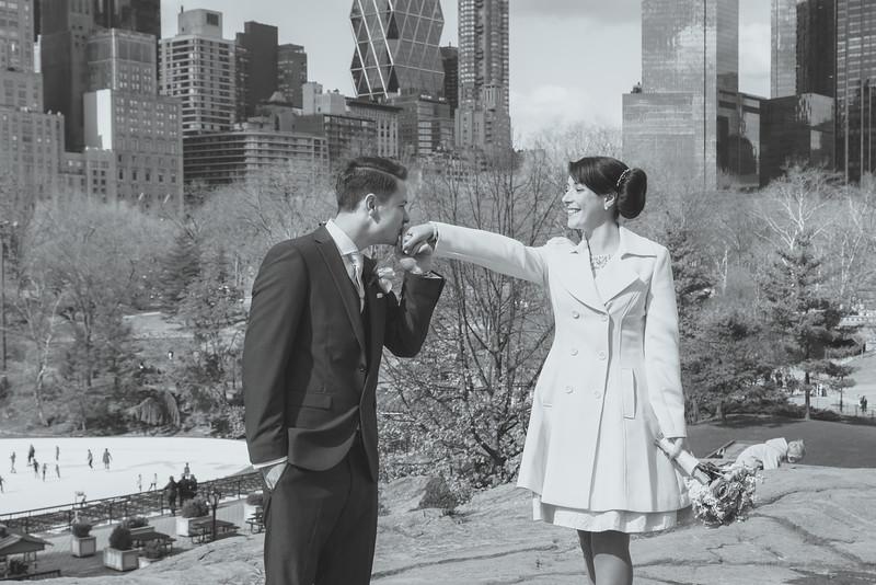 Central Park Elopement Wedding - Matt & Amy www.knotbythesea.com