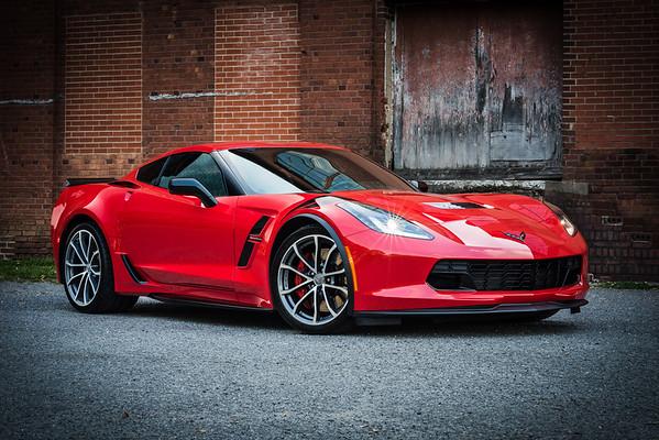 Chad Green Corvette