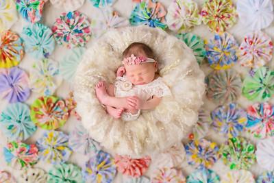 Charlotte Cox & Ian Milliner Newborn Shoot