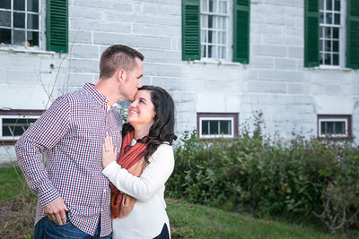 Chelsea & Charlie's engagement session at Shaker Village & Mercer Co. Football Field in Harrodsburg, KY  10.7.15.  © 2015 Love & Lenses Photography/ Becky Flanery   www.loveandlenses.photography