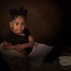 Studio portrait, children, girl