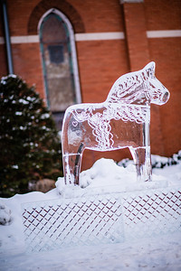 Dala Horse Ice Sculpture-0005