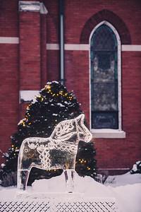 Dala Horse Ice Sculpture-0002