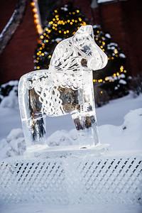 Dala Horse Ice Sculpture-0021