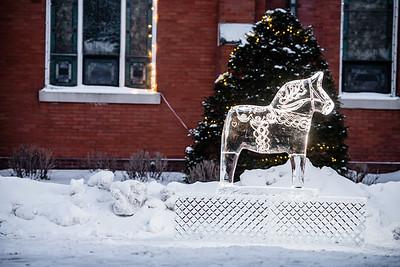 Dala Horse Ice Sculpture-0017