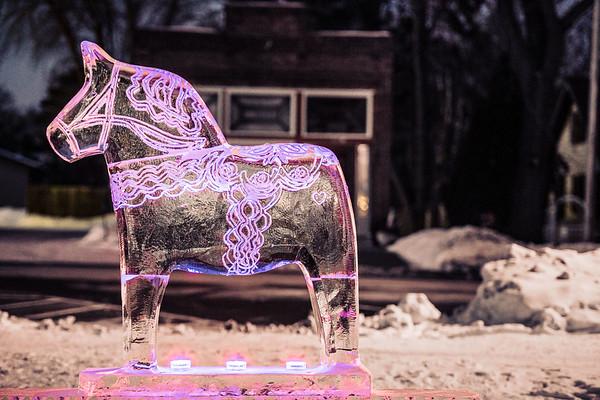 Dala Horse Ice Sculpture-0004
