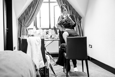Bridal Preparations at The Lodge at Kingswood Golf and  Country Club