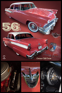 Cliff Christ's  '56 Ford