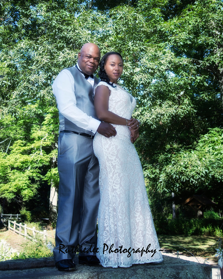 Clyde and Katerega Williamson