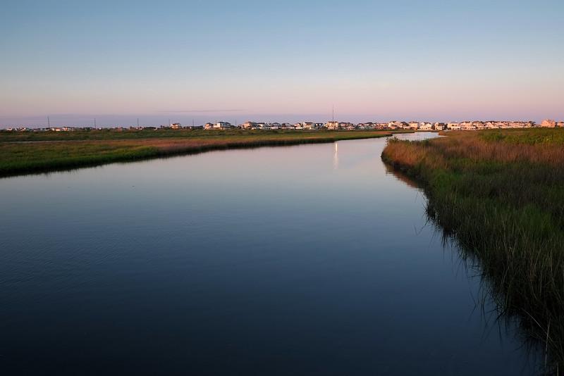 Main swale, Coastal Heritage Preserve