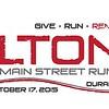 2013 Colton's Main Street Run logo