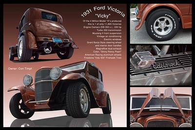 Con Timpf's 31 Ford Victoria