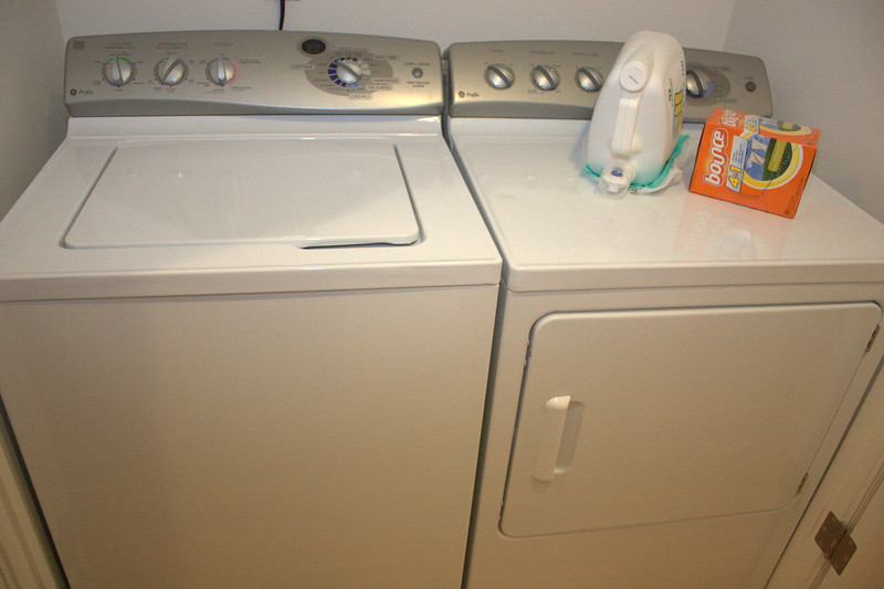 Over size washer & dryer