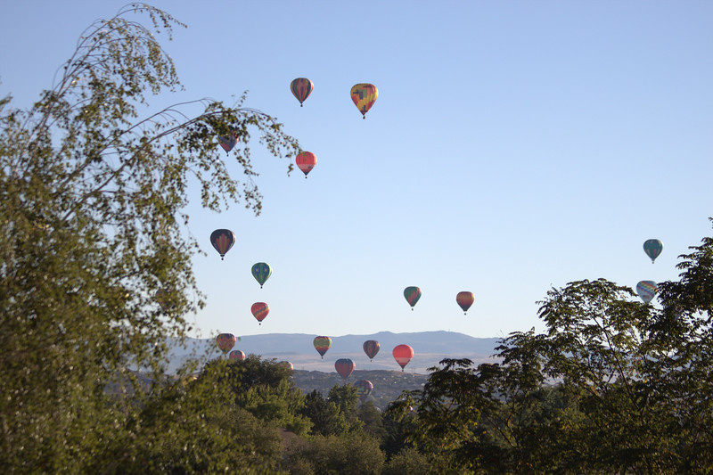 The Great Reno International Balloon Races can be viewed from the loft windows or you can drive 5 minutes to get up close and personal!