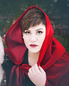 {Little Red Riding Hood}  Fairytales  by thecorielee | Hair & Makeup: Corie Lee Mackey, Model: Ellen McCann, Lexington, KY 1.26.15.