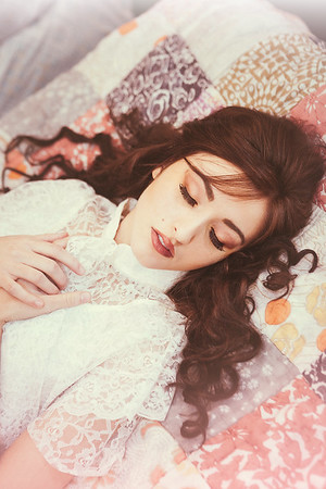 {Princess & The Pea} Fairytales  by thecorielee | Hair & Makeup: Corie Lee Mackey, Model: Natalie Freebersyser, Lexington, KY 1.26.15.