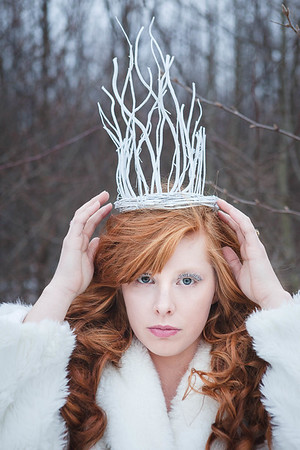 { The Ice Queen} Fairytales  by thecorielee | Hair & Makeup: Corie Lee Mackey, Model: Bethany Graham, Lexington, KY 1.26.15.