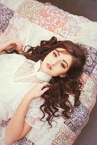 {Princess & The Pea} Fairytales  by thecorielee   Hair & Makeup: Corie Lee Mackey, Model: Natalie Freebersyser, Lexington, KY 1.26.15.