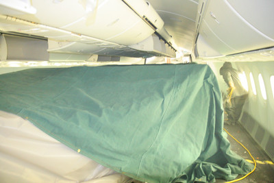 Put a tent over instrumentation in the cabin to keep it warm.... key to taking system measurements while testing