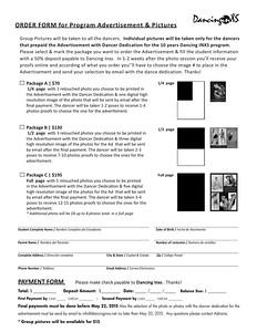 Form Ad & Photos