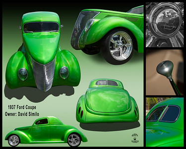 16X20_1937_Green_Ford_Coupe_Trunk_display