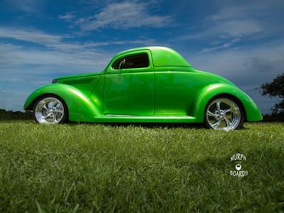 David Similo's 37 Ford Coupe