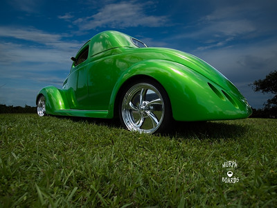 David Similo's 37 Ford Coupe