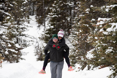 Lake Louise Couples Photography