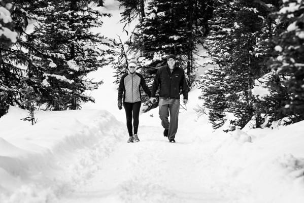 Lake Louise Couples Photography