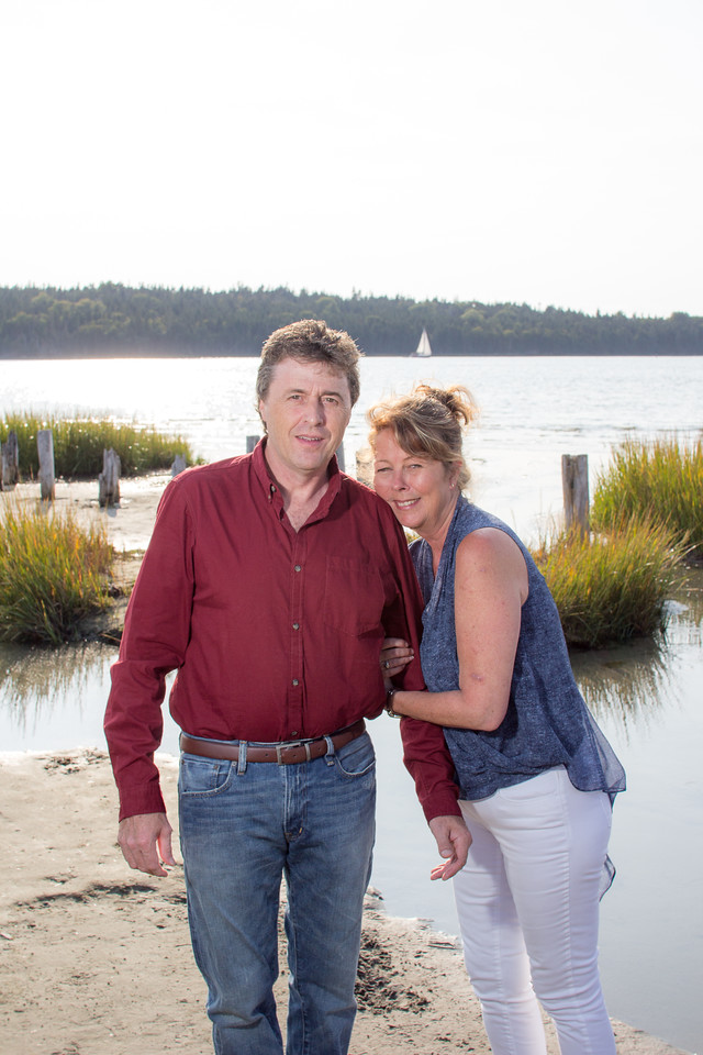 Only in Eastern Passage would you get photo bombed by a sailboat on your engagement photo shoot! 6