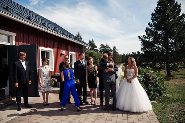 Dokumentaarinen hääkuvaus Turku Lammin talo-163
